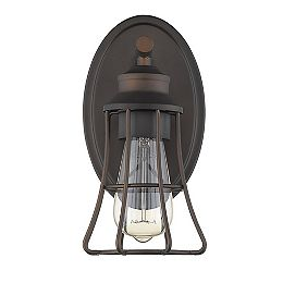 Piers 1-Light 60W Oil-Rubbed Bronze Industrial Design Sconce