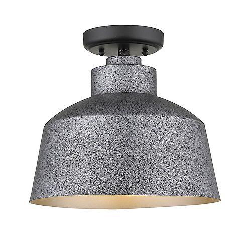 Acclaim Lighting Barnes 100W 1-Light Grey Outdoor Convertible Pendant