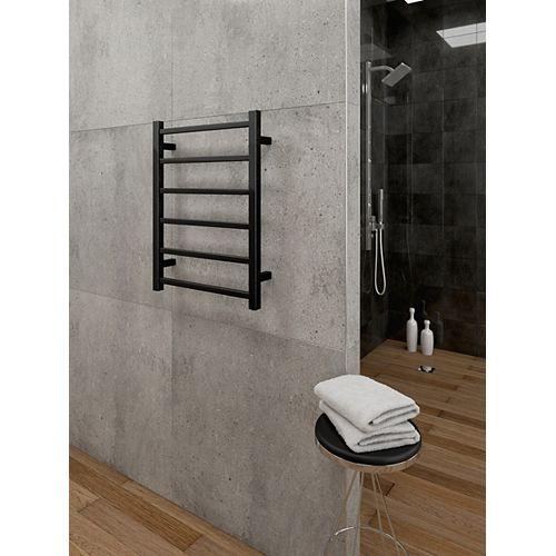 chauffe-serviettes électrique mural Axis - Noir
