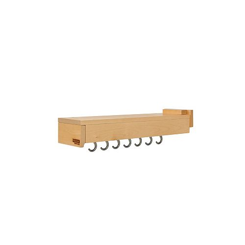 22 in (559 mm) Kitchen Pot and Pan Organizer with Blum Soft-Close Slide System, Maple