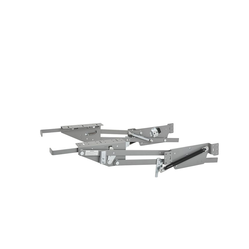 Rev-A-Shelf 60 lb Capacity Heavy-Duty Appliance Lift with Soft-Close, Chrome