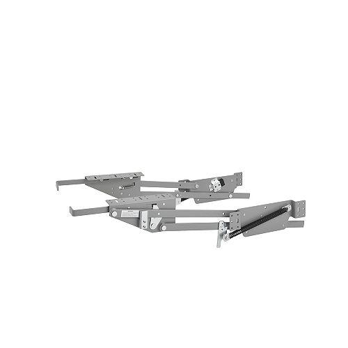 60 lb Capacity Heavy-Duty Appliance Lift, Gray