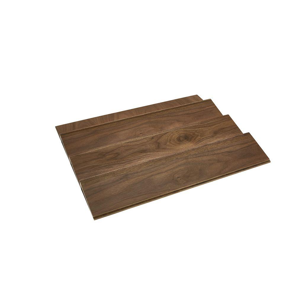 Rev-A-Shelf 22 in (559 mm) Spice Drawer Insert, Walnut