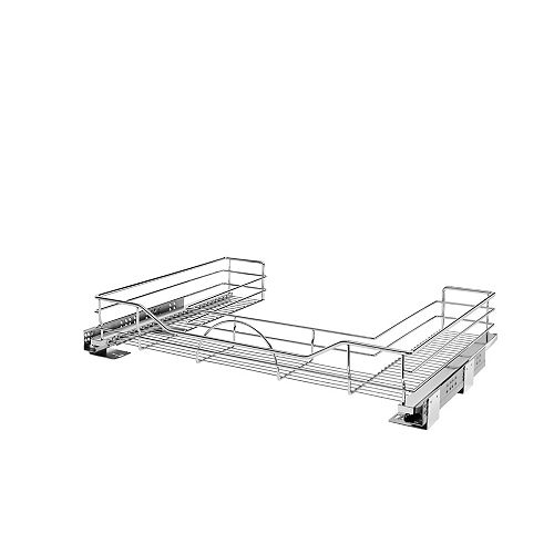 29 1/2 in to 31 3/4 in (749 mm to 806 mm) U-Shaped Pullout with Soft-Close, Chrome