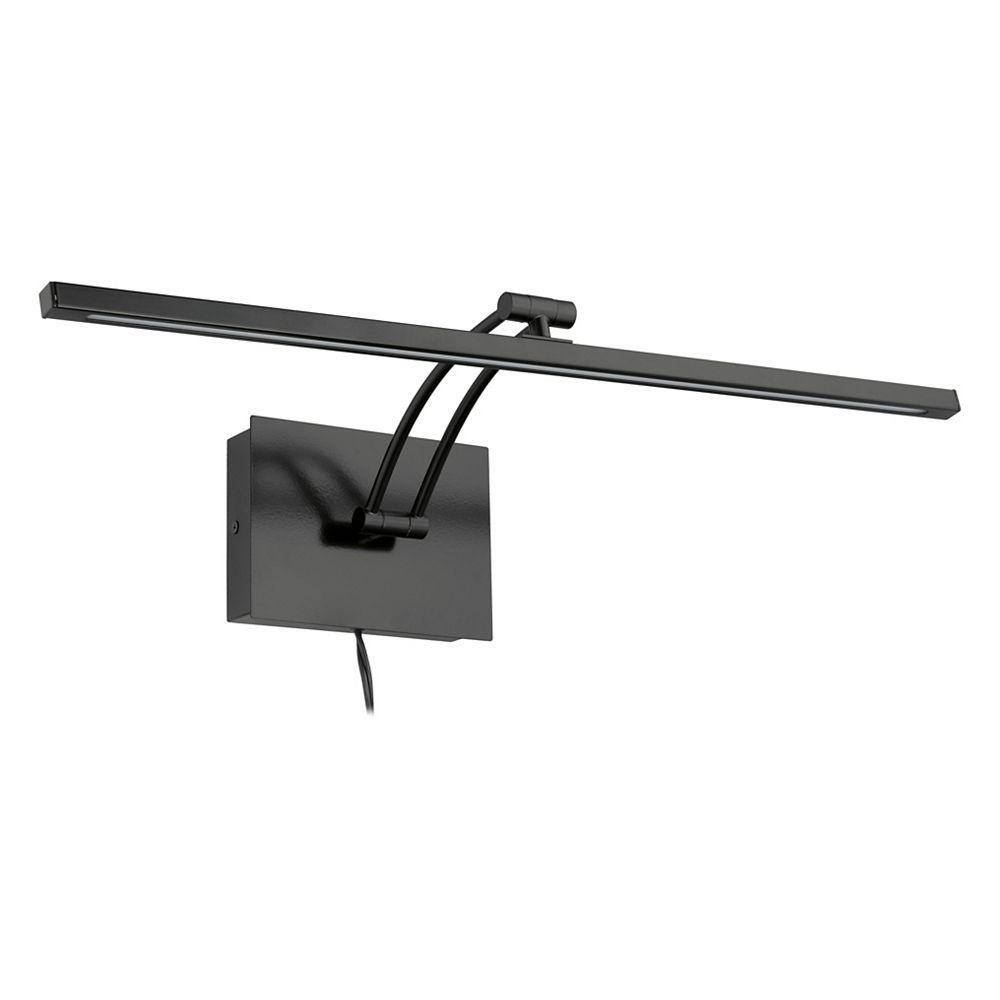 Eglo Doreen 2 24.13-inch 1-Light Matte Black LED Picture Light