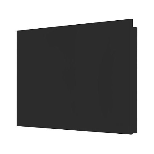Mirage black convector with integrated electronic thermostat 1500W - 240V