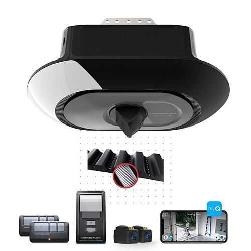 Secure View Smart Garage Opener with Built-In Motion Activated Camera