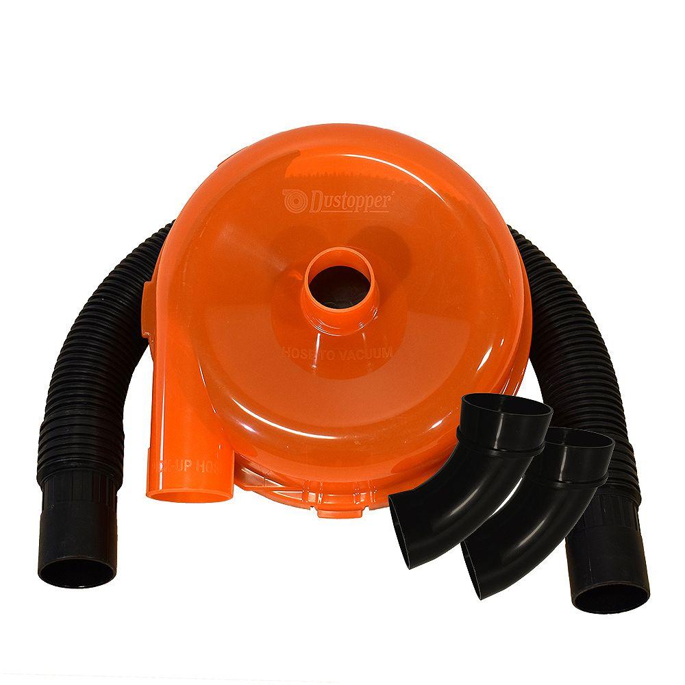 Dustopper Dustopper HD12A High Efficiency Dust Separator 12-inch diameter, 2.5-inch hose, 36-inch long, orange