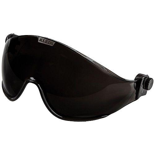 Klein Tools Safety Helmet Visor, Gray Tinted