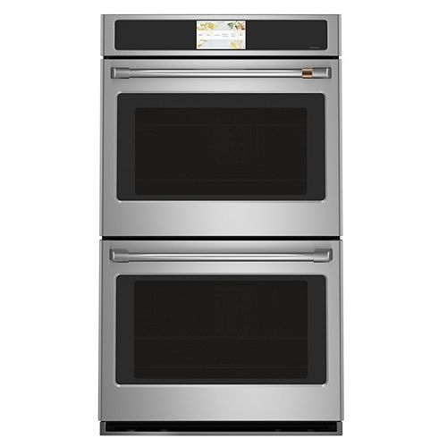 Café 30-inch Built-In Convection Double Wall Oven in Stainless Steel