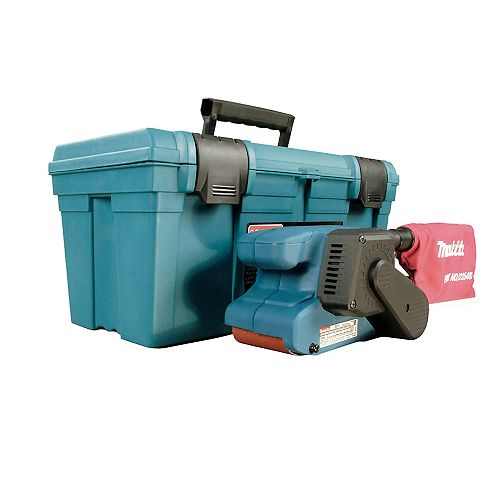 3 inch X 18 inch Variable Speed Belt Sander with Case