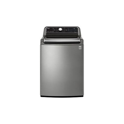 LG Electronics 5.6 cu. ft. Smart Top Load Washer with Agitator and Wi-Fi in Graphite Steel - ENERGY STAR®
