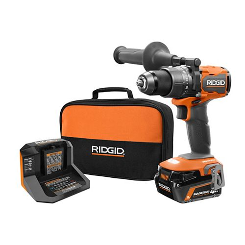 18V Brushless Cordless 1/2-inch Hammer Drill/Driver Kit with 4.0 Ah MAX Output Battery and Charger