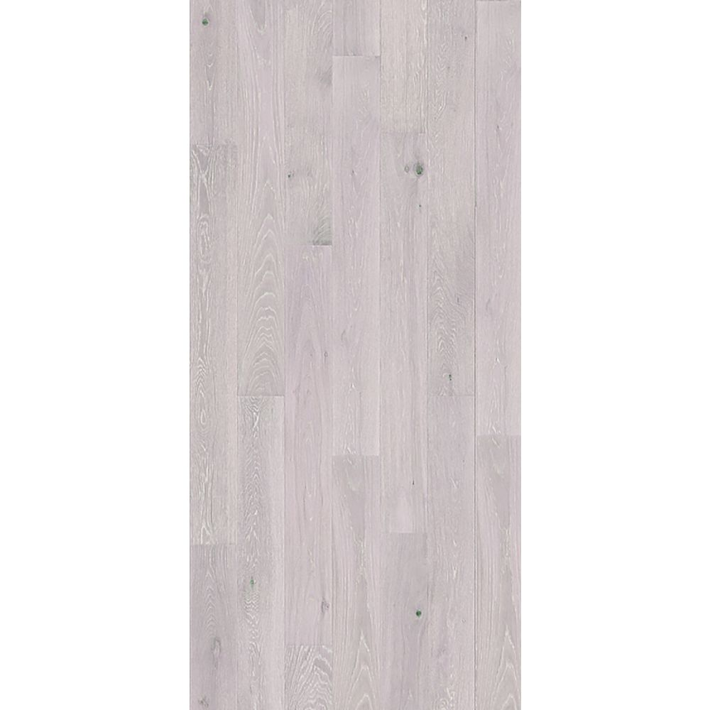 Quickstyle White O Delphi 9/16 in. Thick x 5-1/8 in. x 43 in. L. Engineered Click Hardwood (10.66 sq.ft./case)