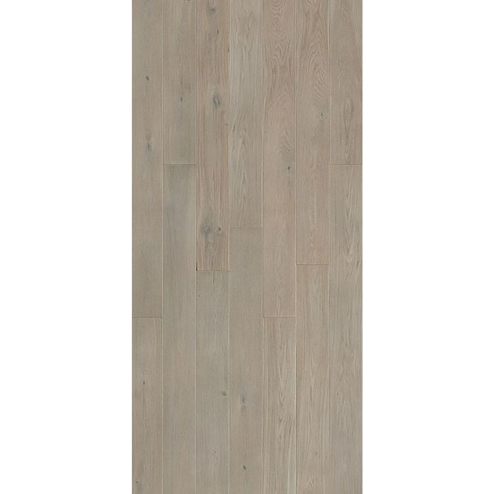 Quickstyle White O Argos 9/16 in. Thick x 5-1/8 in. x 43 in. L. Engineered Click Hardwood (10.66 sq.ft./case)