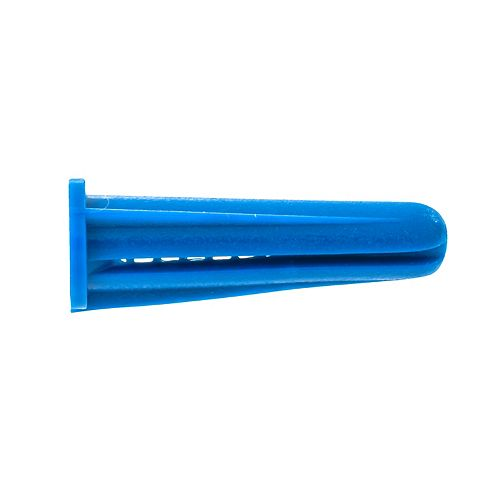 NO.10-12X1 PLASTIC CONICAL ANCHORS (500 pcs)