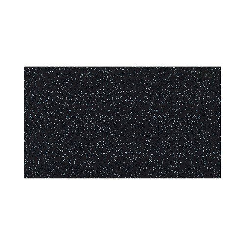 Fit Floor 4 ft. x 6 ft. Rubber Gym Mat Blue (8mm Thickness)