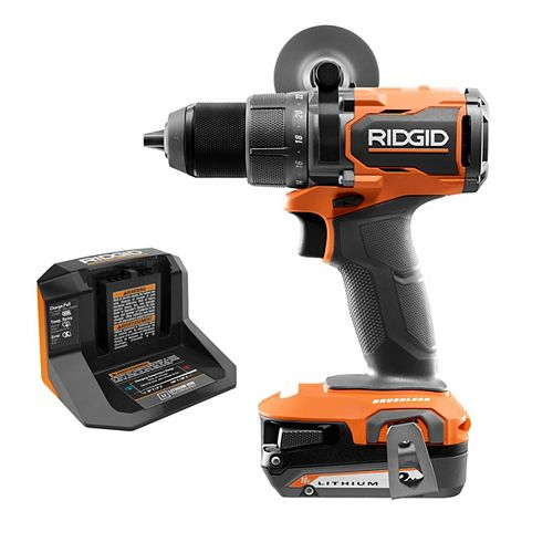 18V Brushless Cordless 1/2-inch Drill/Driver Kit with 2.0 Ah Battery and Charger