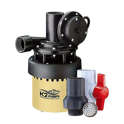 Pompe d'évier utilitaire 1/3 HP