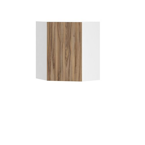 Wall Diagonal Corner Cabinet Zurich 24 x 30 x 24 inch - Ready to Assemble