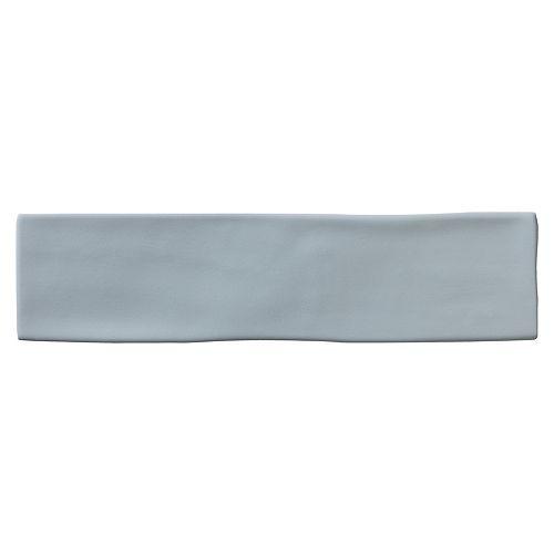 Chalk Matte Grey  3-inch x 12-inch Ceramic Wall Tile (6 sq.ft/case)