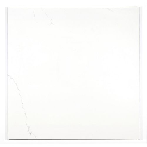 Solero Bianco Matte 24-inch x 24-inch Porcelain Floor and Wall Tile