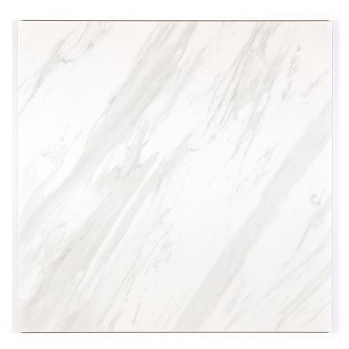 Samar Matte White 24-inch x 24-inch Porcelain Floor and Wall Tile