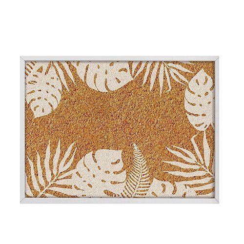 Lagoon Printed Cork Board