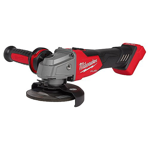 M18 FUEL 18V Lithium-Ion Brushless Cordless 4-1/2 -inch/5 -inch Grinder w/ Slide Switch (Tool-Only)
