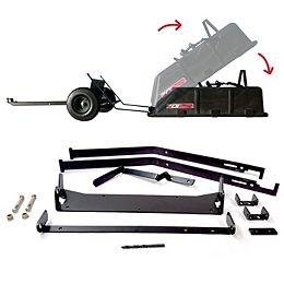 The Roger 180-Degree Full Dump Kit for Brinly-Hardy 10 cu. ft. Poly Carts