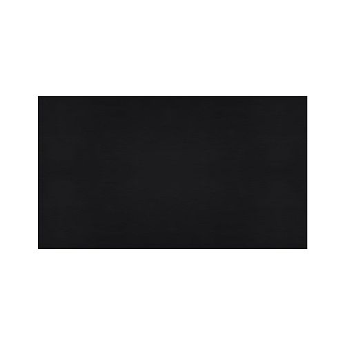 4 ft. x 6 ft. Rubber Gym Mat Black (10mm Thickness)