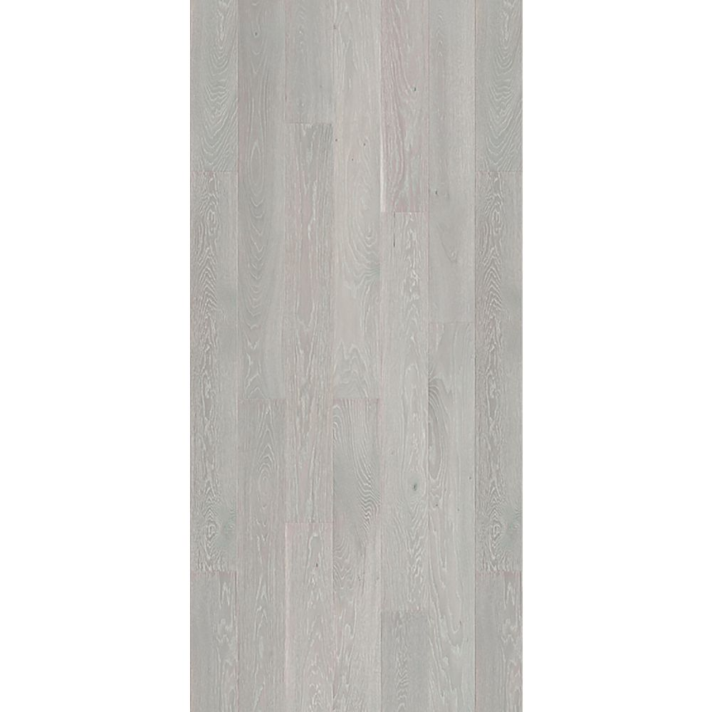 Quickstyle White O Stratus 9/16 in. Thick x 5-1/8 in. x 43 in. L. Engineered Click Hardwood (10.66 sq.ft./case)