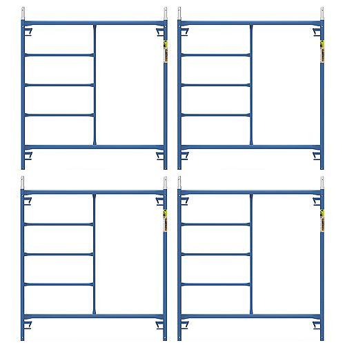 Saferstack 5 ft. x 5 ft. Scaffold Frame (4-Pack)