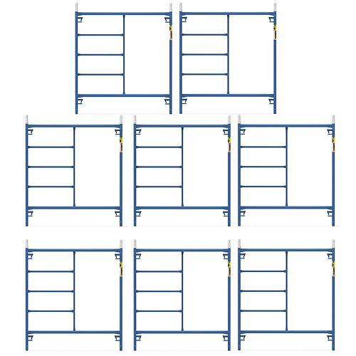 Saferstack 5 ft. x 5 ft. Scaffold Frame (8-Pack)