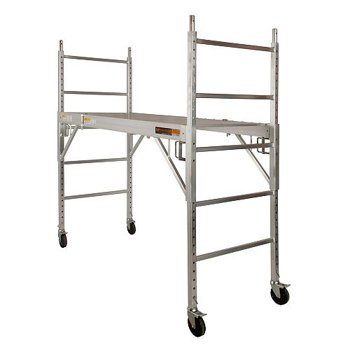6 ft. Aluminum Baker Style Scaffold - 700 lb capacity
