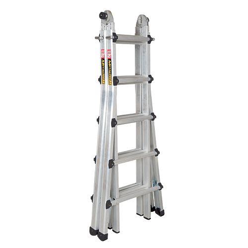 21 ft. Aluminum Telescopic Ladder Grade 1A 300-lb