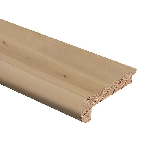Meridian Maple .75 inch x 2.75 inch x 94 inch Vinyl Stair Nose Molding