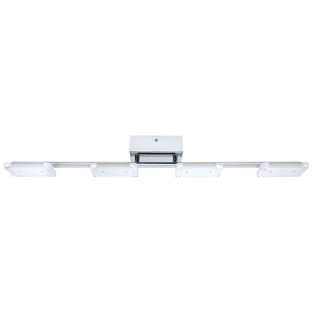 Eglo Cartama 30.75-inch 4-Light Chrome LED Track Light