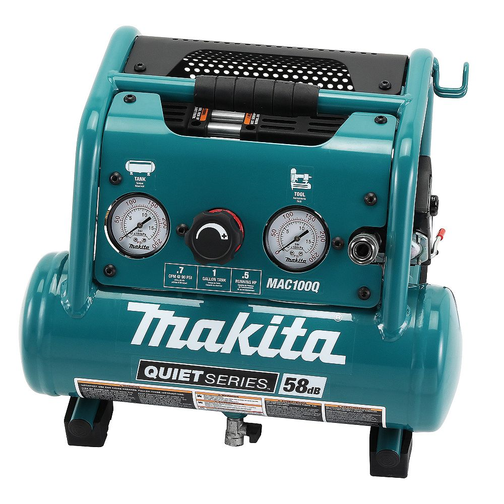 MAKITA 0.5HP 1 Gallon Quiet Compressor