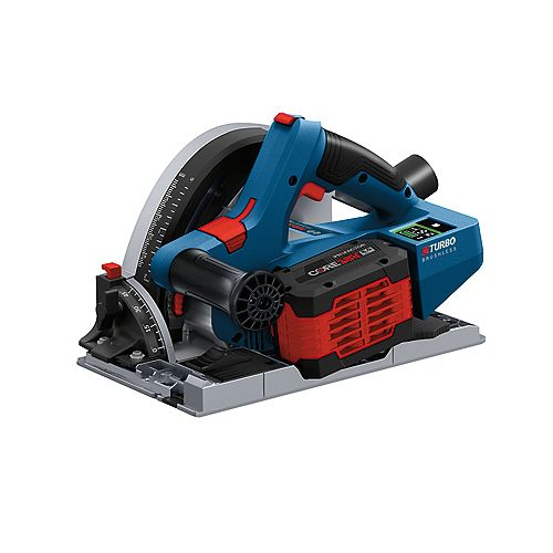 18V Connected-Ready 5-1/2 inch Track Saw Kit with (1) CORE18V 8.0 Ah
