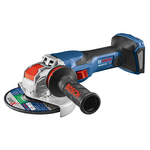 Bosch 18V Spitfire X-LOCK5/6 inch Angle Grinder Kit with (Bare Tool)