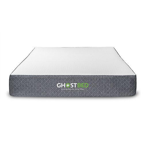 GhostBed Classic 11 inch Gel Memory Foam Mattress- Twin