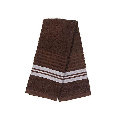 IH Casa Decor Deluxe Hand Towel (16 X 27) (Chocolate) - Set of 6