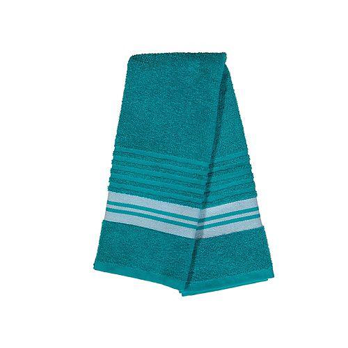 Deluxe Hand Towel (16 X 27) (Teal) - Set of 6