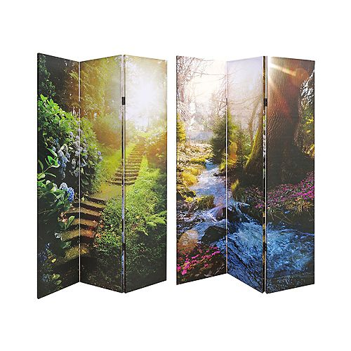 Double Sided Canvas Screen (Nature Lover)
