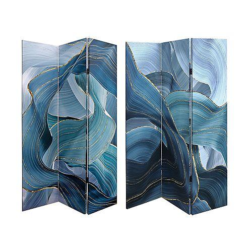 Double Sided Canvas Screen (Tidal Splash)