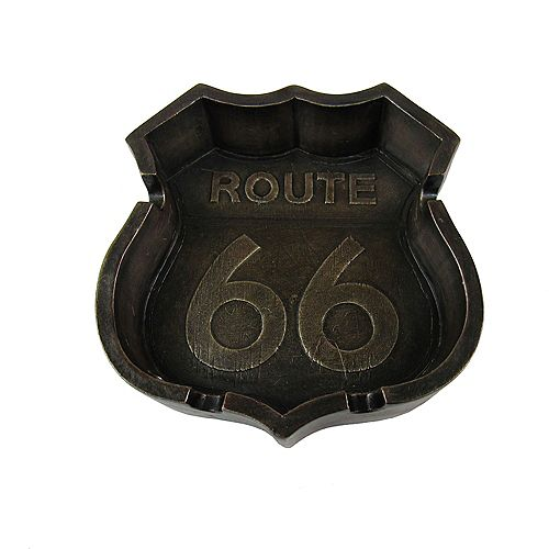 Smokes For The Road Ashtray (Route 66)