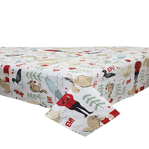 "Cotton Table Cloth (52""  X  72"") (Canadiana)"