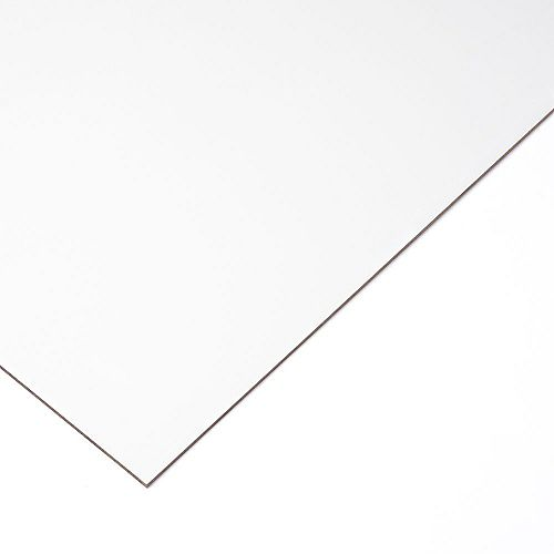 1/8 po. X 1 pi. X 1 pi. 7 po. MDF laminé blanc  (pqt. de 15)