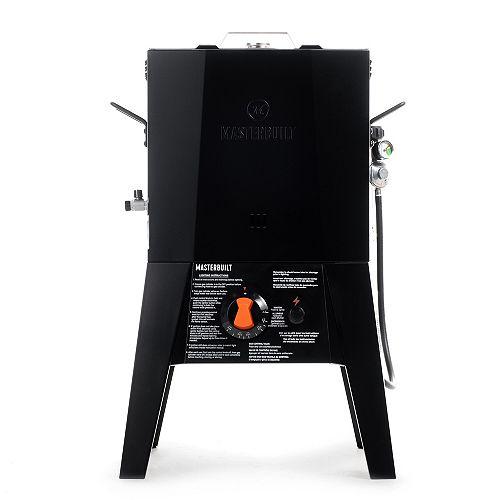 Masterbuilt 16 Quart Propane Fryer w/ Thermostat Control in Black